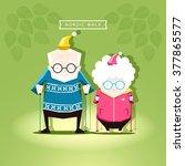 vector illustration of the... | Shutterstock .eps vector #377865577