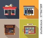 Stores And Shop Facades. Cute...