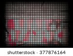 background abstract mosaic of... | Shutterstock . vector #377876164