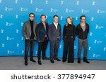 berlin  germany   february 16 ... | Shutterstock . vector #377894947
