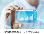 business  technology and people ... | Shutterstock . vector #377910661