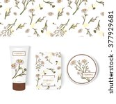vector packing concept with... | Shutterstock .eps vector #377929681