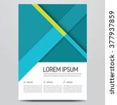 flyer  brochure  poster  annual ...   Shutterstock .eps vector #377937859