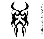tribal designs. tribal tattoos... | Shutterstock .eps vector #377951755