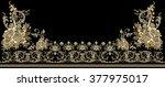 the asymmetry of the baroque... | Shutterstock .eps vector #377975017