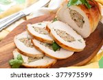 Stuffed Turkey Breast With...