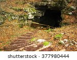 Old Small Mine Entrance  With...