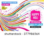 creative poster for indian... | Shutterstock .eps vector #377986564