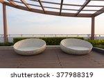 relax corner on condominium... | Shutterstock . vector #377988319