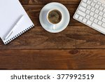 business composition with... | Shutterstock . vector #377992519