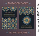vector templates for save the... | Shutterstock .eps vector #378010114