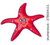 Marine Life. Sea Star.vector...