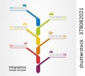 banner infographic design... | Shutterstock .eps vector #378082021