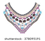 Ethnic Neck Embroidery For...