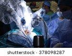 medical robot. robotic surgery. ... | Shutterstock . vector #378098287