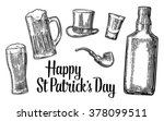 saint patrick's day. top... | Shutterstock .eps vector #378099511