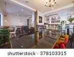 cafe bar interior | Shutterstock . vector #378103315