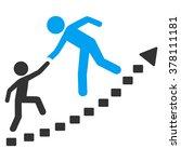 education progress vector icon. ... | Shutterstock .eps vector #378111181