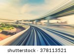 abstract high speed technology... | Shutterstock . vector #378113521