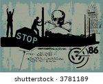 vector grungy background | Shutterstock .eps vector #3781189