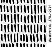 hand drawn seamless ink pattern.... | Shutterstock .eps vector #378140389