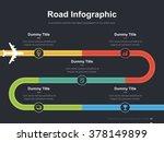flat business presentation... | Shutterstock .eps vector #378149899
