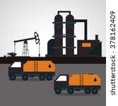 oil industry design    Shutterstock .eps vector #378162409