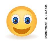 ecstatic smiley face   Shutterstock .eps vector #378165535