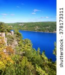Devils Lake State Park is located near Wisconsin Dells