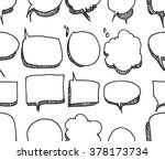 vector collection of hand drawn ... | Shutterstock .eps vector #378173734