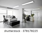 simple and stylish office... | Shutterstock . vector #378178225