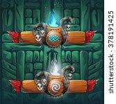 set shaman boosters   symbols... | Shutterstock .eps vector #378191425