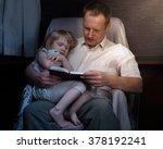 Bedtime Story. Dad Daughter...