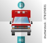medical and hospital icon | Shutterstock .eps vector #378193831