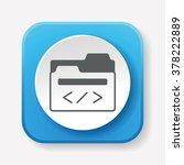 media file icon   Shutterstock .eps vector #378222889