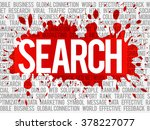search word cloud concept | Shutterstock . vector #378227077
