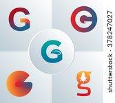Vector G Letter Logo Sign Icon...