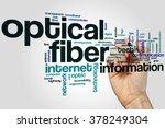 optical fiber word cloud...   Shutterstock . vector #378249304