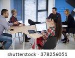 startup business team on...   Shutterstock . vector #378256051
