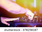 dj music night club | Shutterstock . vector #378258187