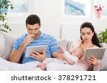 indifferent parents dont... | Shutterstock . vector #378291721