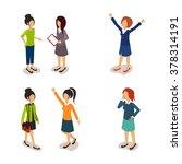 people. everyday activities.... | Shutterstock .eps vector #378314191