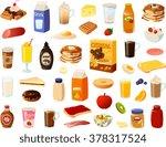 vector ilustration of various... | Shutterstock .eps vector #378317524