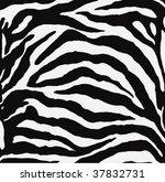 vector   zebra texture black...   Shutterstock .eps vector #37832731