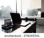 work space | Shutterstock . vector #378345541