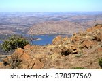 Hartbeespoort Dam Seen From Th...