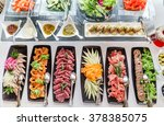 catering table | Shutterstock . vector #378385075