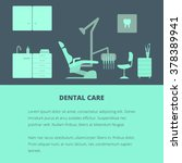vector dental care concept ...
