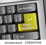 keyboard illustration with... | Shutterstock . vector #378395704