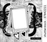 the black white framework to... | Shutterstock . vector #37842211
